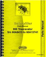 Parts Manual for Caterpillar 955 Traxcavator