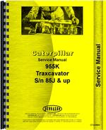 Service Manual for Caterpillar 955K Traxcavator