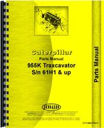 Parts Manual for Caterpillar 955K Traxcavator