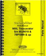 Parts Manual for Caterpillar 955L Traxcavator