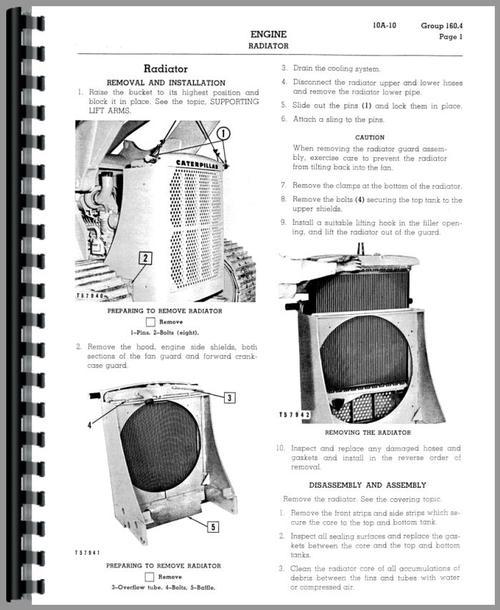 Caterpillar 977 Traxcavator Service Manual