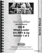 Service Manual for Caterpillar 980B Wheel Loader