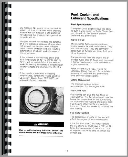 caterpillar 988b wheel loader operators manual rh themanualstore com caterpillar operator manual d10t downloads caterpillar operator manual d10t downloads