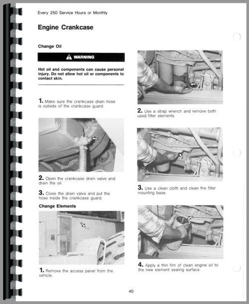 Cat 988 Operators Manual