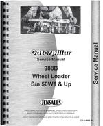Service Manual for Caterpillar 988B Wheel Loader