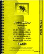 Parts Manual for Caterpillar 9R Bulldozer Attachment