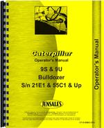 Operators Manual for Caterpillar 9S Bulldozer Attachment