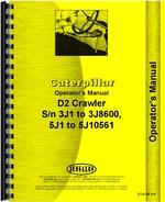 Operators Manual for Caterpillar D2 Crawler