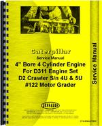 Service Manual for Caterpillar D311 Engine