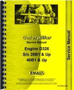 Service Manual for Caterpillar D326 Engine