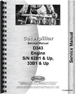 Service Manual for Caterpillar D343 Engine
