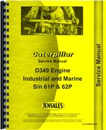 Service Manual for Caterpillar D349 Engine