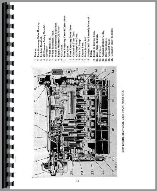 Service Manual for Caterpillar D397 Engine Sample Page From Manual