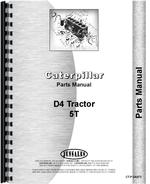Parts Manual for Caterpillar D4 Crawler