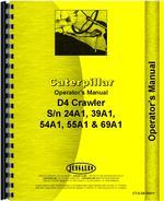 Operators Manual for Caterpillar D4C Crawler