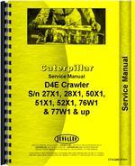 Service Manual for Caterpillar D4E Crawler