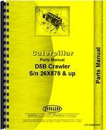 Parts Manual for Caterpillar D5B Crawler