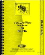 Parts Manual for Caterpillar D6 Crawler