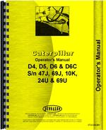 Operators Manual for Caterpillar D6C Crawler
