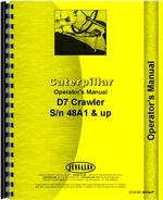 Operators Manual for Caterpillar D7 Crawler