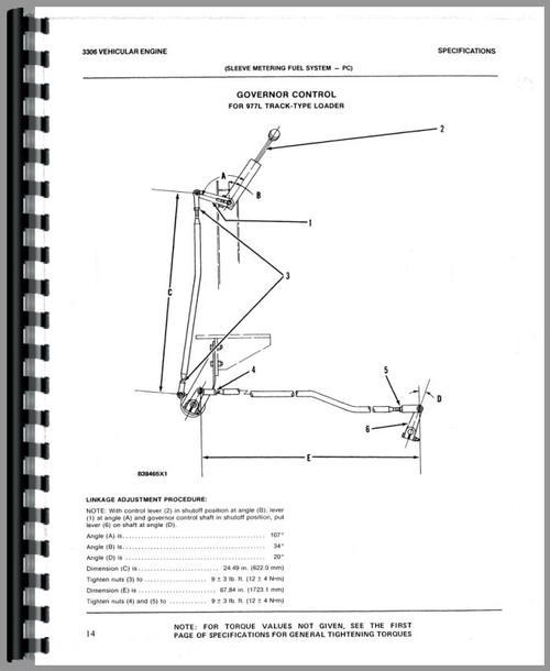 Caterpillar D7F Crawler Operators Manual