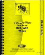 Parts Manual for Caterpillar D7K Crawler
