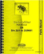 Parts Manual for Caterpillar D8 Crawler