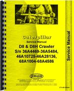 Service Manual for Caterpillar D8 Crawler