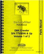 Parts Manual for Caterpillar D8K Crawler