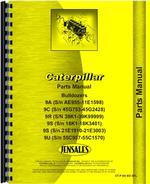 Parts Manual for Caterpillar D9 Crawler 9A Bulldozer Attachment