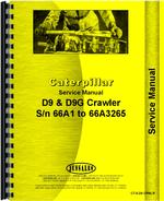 Service Manual for Caterpillar D9G Crawler