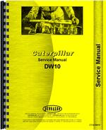 Service Manual for Caterpillar DW10 Tractor