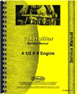 Service Manual for Caterpillar DW10 Tractor Engine