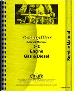 Service Manual for Caterpillar G342 Engine