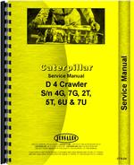 Service Manual for Caterpillar RD4 Crawler