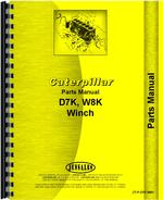 Parts Manual for Caterpillar D7K Hyster Winch Attachment