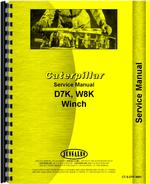 Service Manual for Caterpillar W8K Hyster Winch Attachment