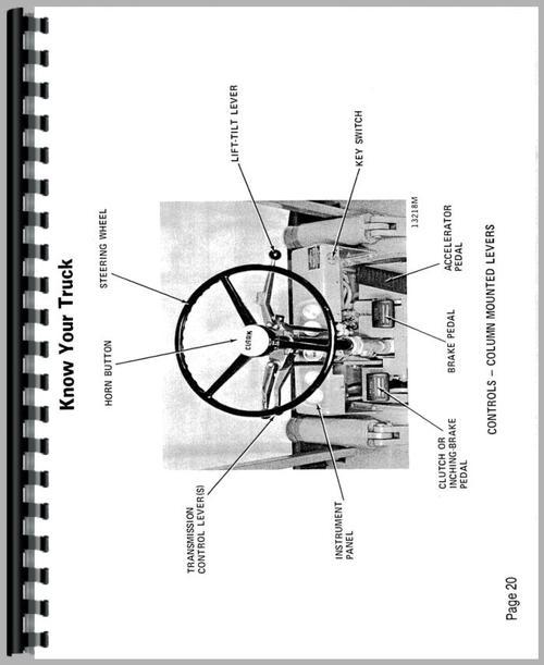 Clark C500 Ys80 Forklift Operators Manual Rh Themanualstore Com 40 Wiring Diagram