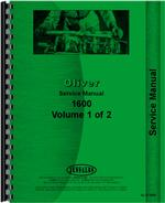 Service Manual for Cockshutt 1600 Tractor