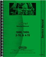 Service Manual for Cockshutt 1655 Tractor