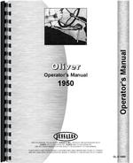 Operators Manual for Cockshutt 1950 Tractor