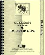 Parts Manual for Cockshutt 30 Tractor