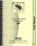 Parts Manual for Cockshutt 540 Tractor