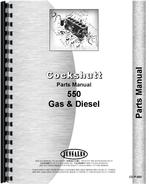 Parts Manual for Cockshutt 550 Tractor