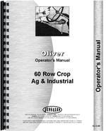 Operators Manual for Cockshutt 60 Tractor