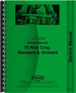 Service Manual for Cockshutt 70 Tractor