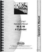 Operators Manual for Cockshutt 99 Tractor