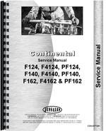 """""""Service Manual for Continental Engines F124, F4124, PF124, F140, F4140, PF140, F162, F4162, PF162 Engine"""""""