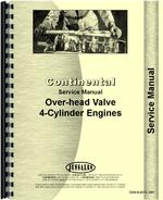 Service Manual for Continental Engines J-382 Engine
