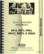 Service Manual for Continental Engines R6572 Engine